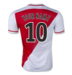 2015-2016 Monaco Home Shirt (Your Name) -Kids