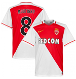 2015-2016 Monaco Home Shirt (Moutinho 8) - Kids