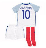 2016-17 England Home Little Boys Kit (Your Name)