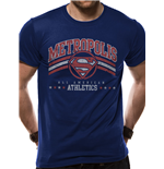 Dc Originals - Metropolis Athletics - Unisex T-shirt Blue