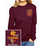 Harry Potter - House Gryffindor - Women Fitted Crewneck Sweatshirt Red