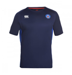 2016-2017 Bath Rugby Superlight Poly Dry Training Tee (Navy)