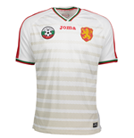 2016-2017 Bulgaria Home Joma Football Shirt
