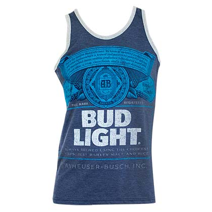 BUD LIGHT Bottle Logo Tank Top