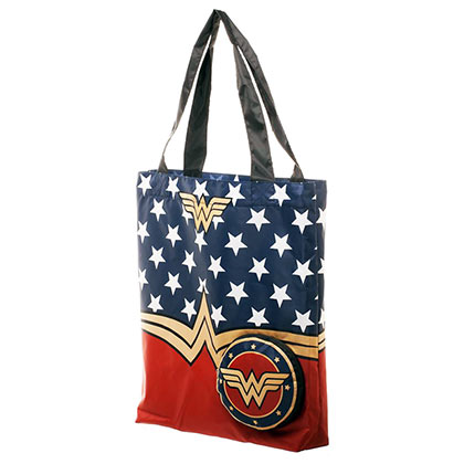 WONDER WOMAN Packable Tote Bag