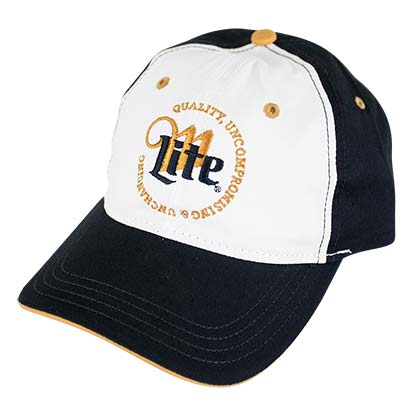 MILLER Lite Quality Uncompromising and Unchanging Logo Hat