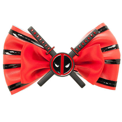 DEADPOOL Bowtie Hair Bow