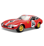 Bburago - Ferrari 365 Gtb4 Race Series 1 Diecast Model - 1:24