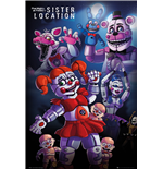 Five Night At Freddy's - Sister Location Group Maxi Poster (61x91,5 Cm)