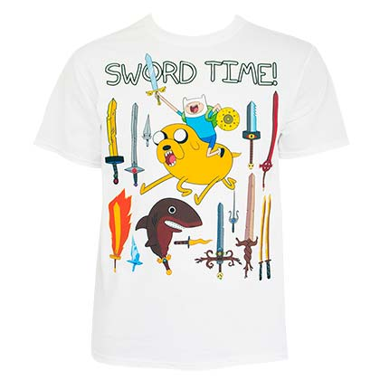 ADVENTURE TIME Sword Time Tee Shirt