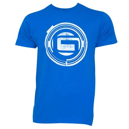 GUARDIANS OF THE GALAXY Logo Blue Tee Shirt