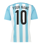 2015-16 Argentina Home Shirt (Your Name)