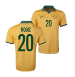 2014-15 Australia World Cup Home Shirt (Rogic 20)