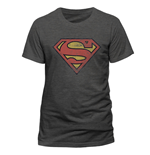 Superman T-Shirt Distressed Logo