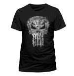 The Punisher T-Shirt Shatter Skull