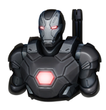 Marvel Comics Coin Bank War Machine Mark III 20 cm