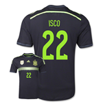2014-15 Spain Away World Cup Shirt (Isco 22)