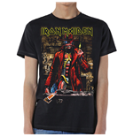 Iron Maiden Men's Tee: Stranger Sepia