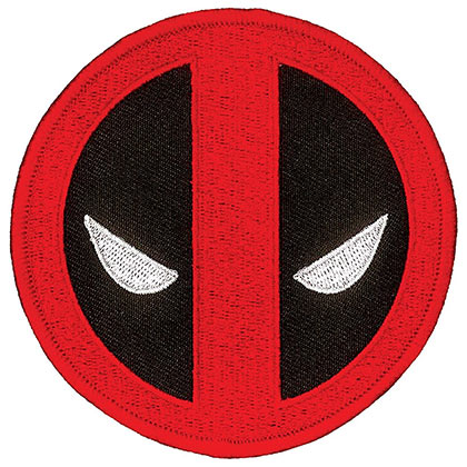 DEADPOOL Iron On Patch