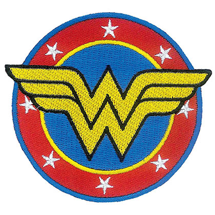 WONDER WOMAN Iron On Patch