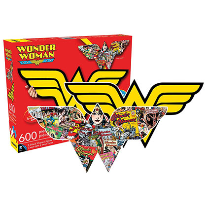 WONDER WOMAN Two Sided Puzzle