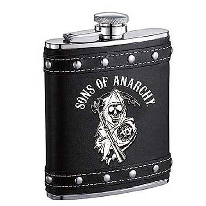 SONS OF ANARCHY Studded Flask