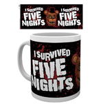 Five Nights at Freddy's Mug - I Survived
