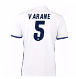 2016-17 Real Madrid Home Shirt (Varane 5)