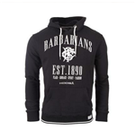 2016-2017 Barbarians Zip Thru Hoody (Charcoal)