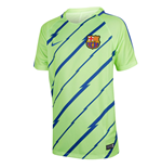 2016-2017 Barcelona Nike Pre-Match Dry Training Shirt (Ghost Green) - Kids