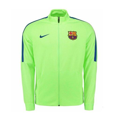 sports shoes ab1c7 fcfb0 2016-2017 Barcelona Nike Revolution Strike Jacket (Ghost Green)