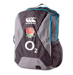 2016-2017 England Rugby Small Backpack (Grey)