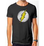 The Flash - Vintage Logo - Unisex T-shirt Black
