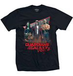 Marvel Comics Men's Tee: Guardians of the Galaxy Vol. 2 Eighties