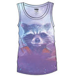 Guardians of the Galaxy Vol. 2 Sublimation Girlie Tank Top Rocket