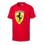 2017 Ferrari Puma SF Big Shield Tee (Rosso Corsa)