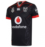 2017 New Zealand Warriors Canterbury Replica Home Rugby Jersey