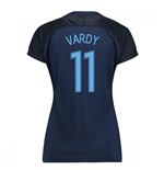 2017-18 England Away Womens Shirt (Vardy 11)