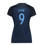 2017-18 England Away Womens Shirt (Kane 9)
