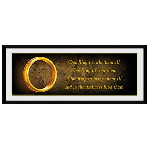 Lord Of The Rings Picture One Ring 30 x 12
