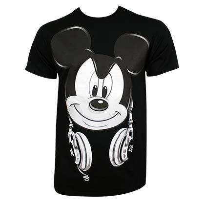 Mickey Mouse DJ Mickey Tee Shirt