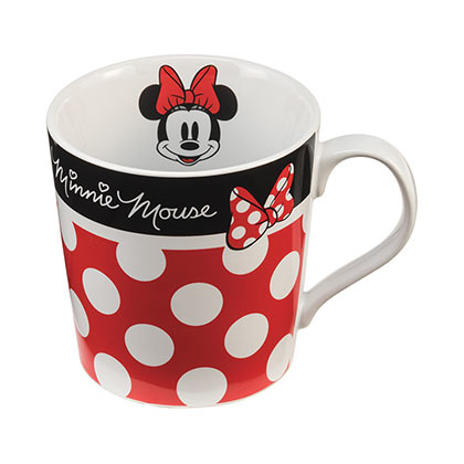 Minnie Mouse Spotted Mug