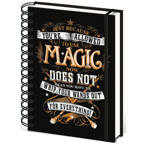 Harry Potter A5 Notebook Magic