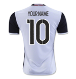 2016-2017 Denmark Away Shirt (Your Name)