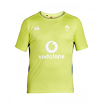 2016-2017 Ireland Rugby Superlight Poly Training Tee (Lime Punch)
