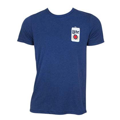 MILLER Lite Popped Can Tee Shirt