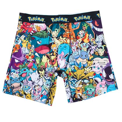 POKEMON Mob Scene Boxer Briefs