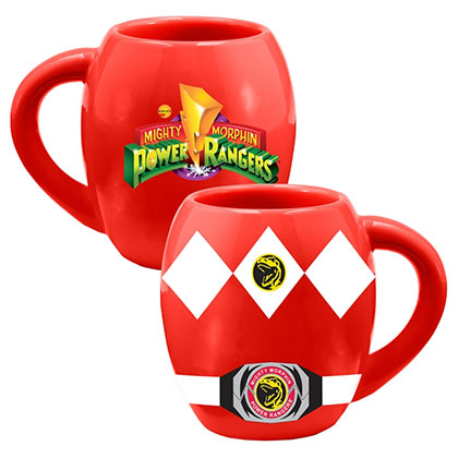 POWER RANGERS Red Costume Mug