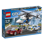 Police Lego and MegaBloks 260814