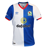 2016-2017 Blackburn Rovers Umbro Home Football Shirt